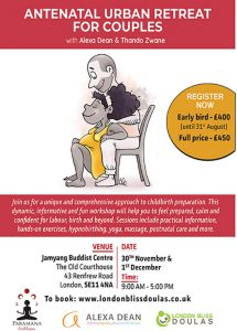 Antenatal Urban Retreat @ Jamyang Buddist Centre